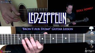 Bron-Y-Aur Stomp Guitar Lesson - Led Zeppelin