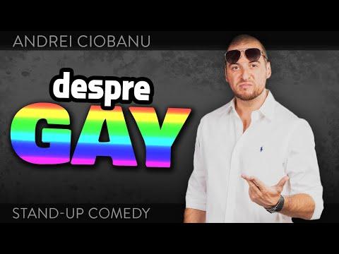 ANDREI CIOBANU - DESPRE GAY (stand-up comedy @Club 99)