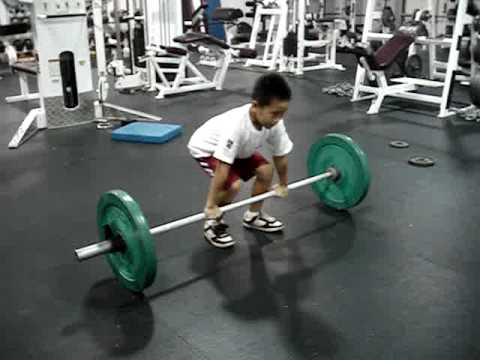 9 Year Old Olympic Weightlifting Champion