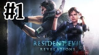 Resident Evil Revelations Walkthrough Part 1 - With Commentary - Xbox 360 Gameplay