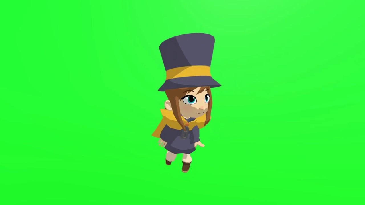 Hat Kid Default Dance Youtube