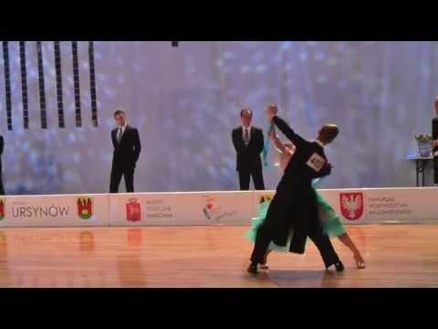 WDSF World Open Standard   Final Solo Waltz   Polish Cup 2015