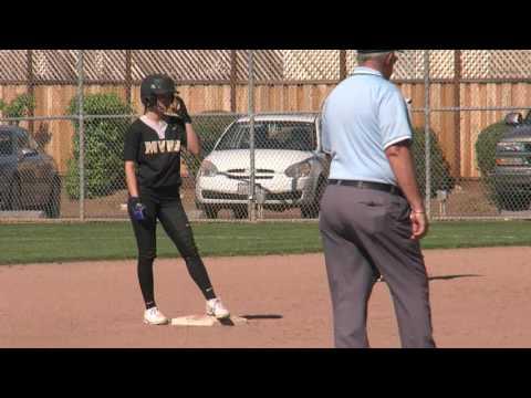 Mountain View Spartans vs Los Altos Eagles - Softball, April 27, 2017