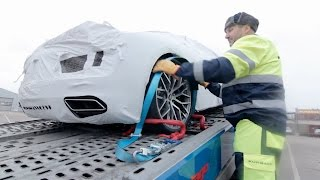 Audi R8 2015 first steps in Latvia