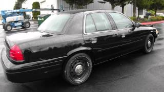 INTERCEPTORKING.COM Black 2006 Ford Crown Victoria new paint