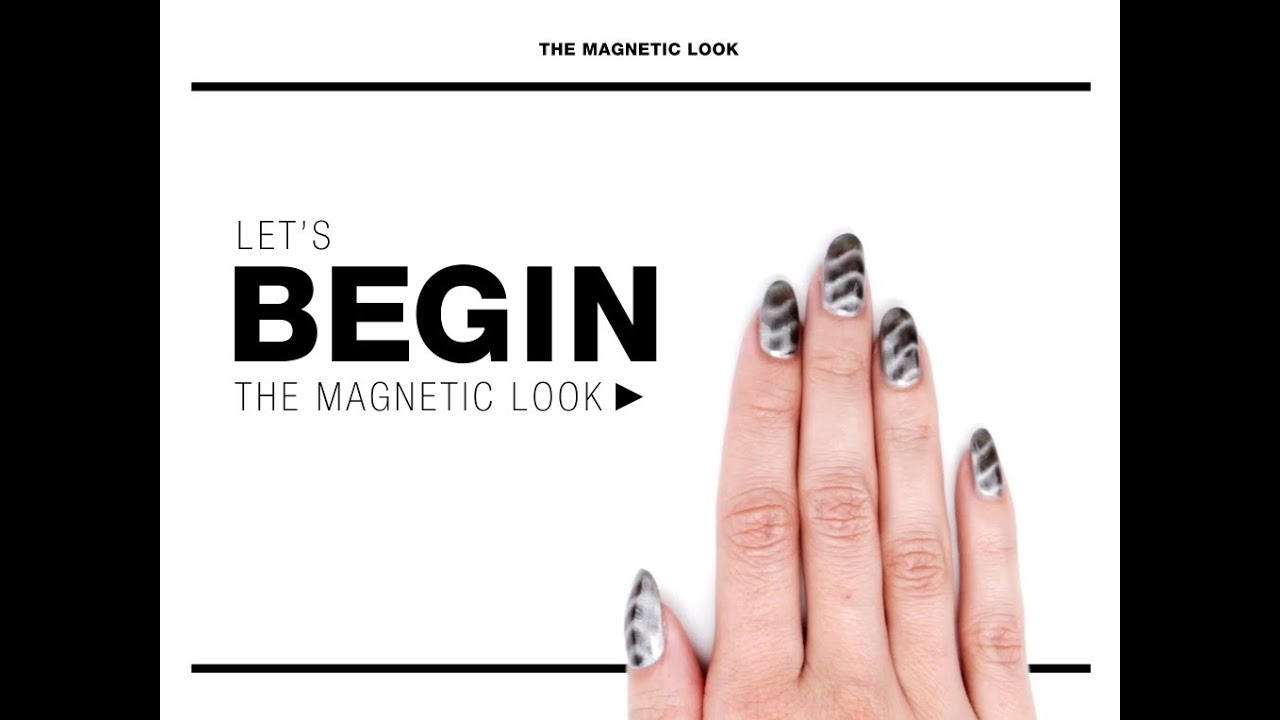 Nail How-To: Magnetic Nail Polish Tutorial - YouTube
