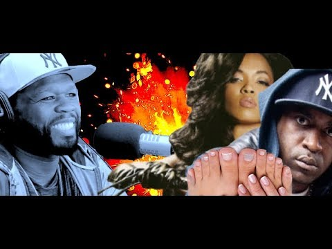 50 Cent PUTS Tony Yayo ON BLAST with Karrine Steffans  aka Supa Head claims GOAT at Sucking Her Toes