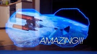 Hologram projector DIY