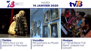 7/8 Culture. Emission du mardi 14 janvier 2020