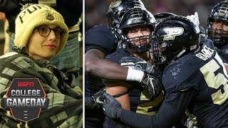 Purdue's upset of Ohio State makes Tyler Trent's dream come true | College GameDay