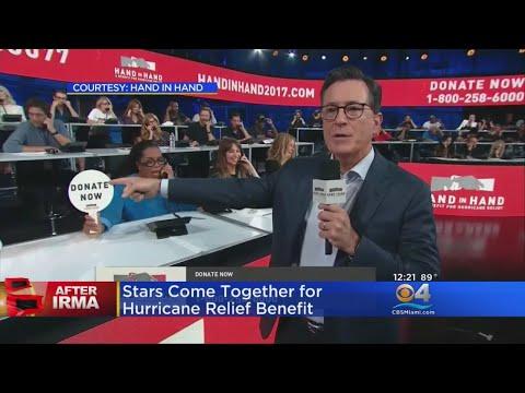 Celebrities Help Raise Over $44 Million For Hurricane Relief