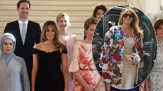 Melania Trump Turns Heads in $51G Dolce and Gabbana Jacket