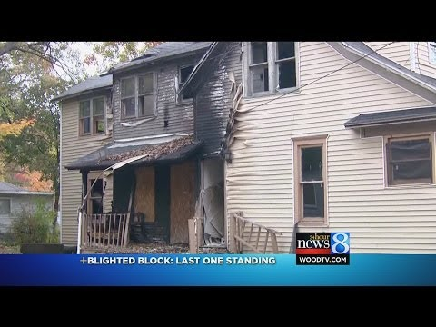 Muskegon Heights block full of blight