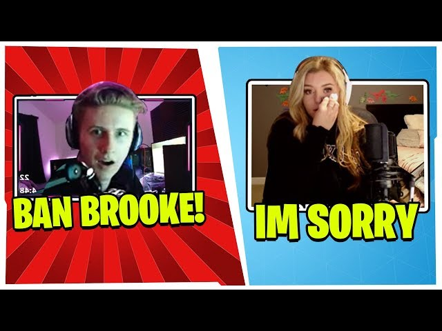 SYMFUHNY BANS THE WORD BROOKE IN HIS CHAT AFTER HE FINDS THIS OUT!