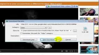 How to register and video download from facebook and youtube with idm urdu tutorial   Tamoor Academy