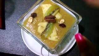 Quick, lazy kiwi dessert 2 ingredients