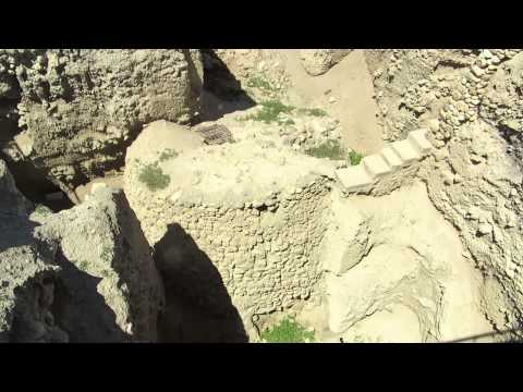 Jericho - the oldest city tour in the world - the ancient tower of Tell es-Sultan (Tell Jericho)