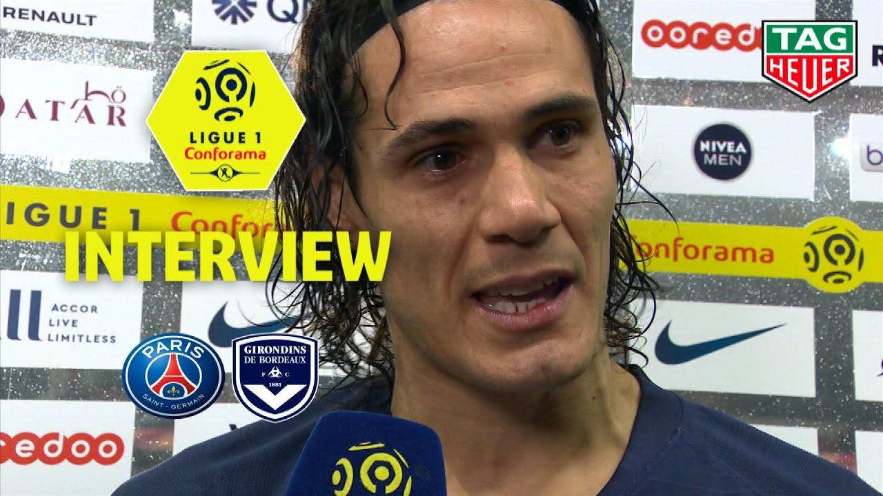 Interview De Fin De Match Paris Saint Germain Girondins De Bordeaux 4 3 2019 20 Youtube