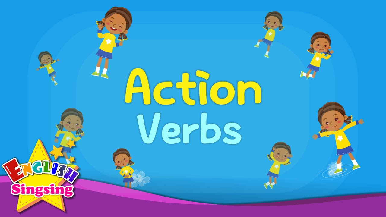 Kids Vocabulary   Action Verbs   Action Words   Learn English For Kids    English Educational Video   YouTube  Action Verbs