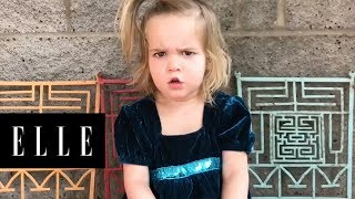This Little Girl's Argument With Her Boyfriend on her Toy Phone is Absolutely Adorable   ELLE