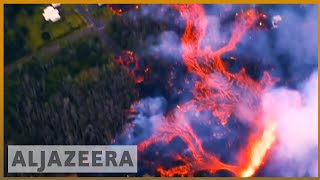 🌋 Hawaii's Kilauea volcano eruption visible from space | Al Jazeera English