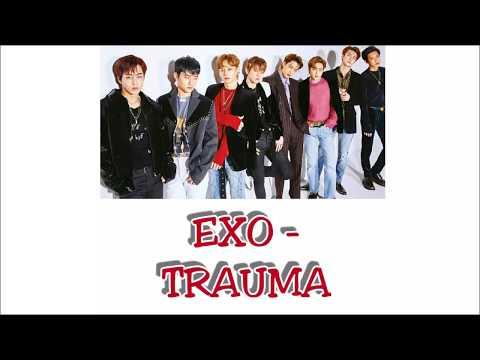 EXO - Trauma Lyrics [Rom+Indo]