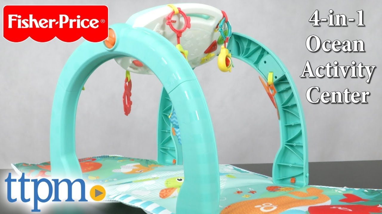46f029bd3 4-in-1 Ocean Activity Center from Fisher-Price - YouTube