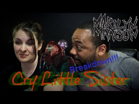 Marilyn Manson Cry Little Sister Reaction!! (Original Link In Description!!)