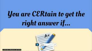 CER Video Overview