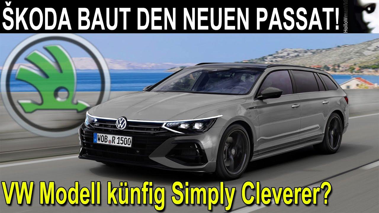 ŠKODA BAUT DEN NEUEN VW PASSAT! | Paukenschlag in der Geschichte um Skoda als künftige Billigmarke