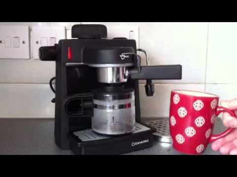 Cookworks Expresso Coffee Maker And Milk Steamer Best