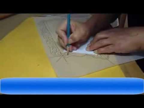 71 plantilla para un marco tallado en madera 8 youtube - Plantillas para la pared ...