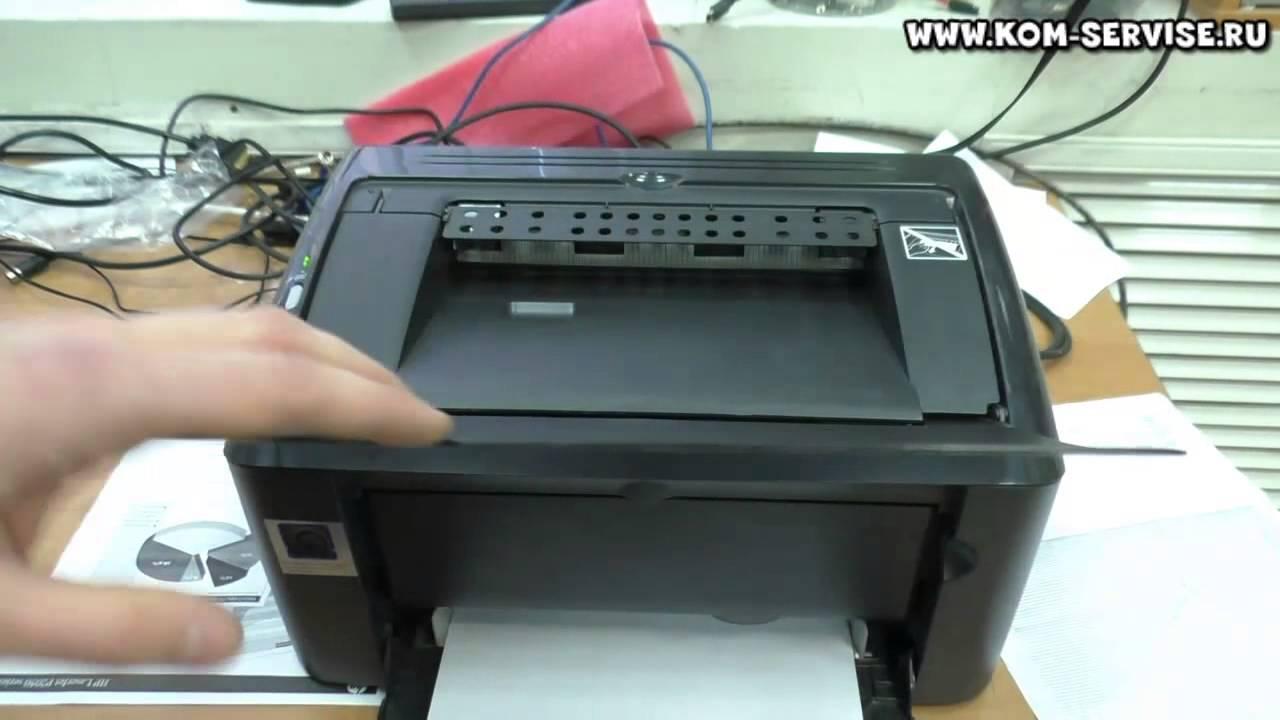 Скачать драйвер для принтера hp р1006
