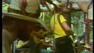 Hank Williams, Jr. live on stage in 1980