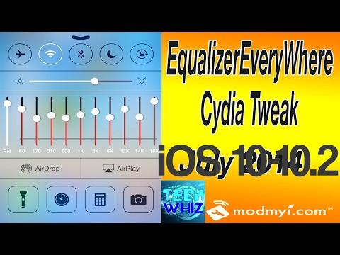 iOS 10 Jailbreak Tweak #2- EqualizerEverywhere