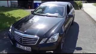 Mercedes W212 E 500 5,5 Liter Motorschaden - Reparaturen bei Redhead, Ölverbrauch, Motor ruckelt,