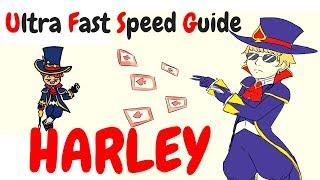 HARLEY | Ultra Fast Speed Guide #19 | Shinmen Takezo | Mobile Legends