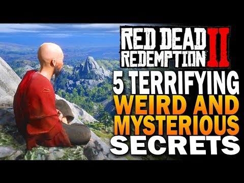 5 Terrifying, Weird & Mysterious Secrets In Red Dead Redemption 2 [RDR2] thumbnail