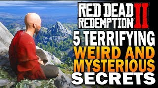 5 Terrifying, Weird & Mysterious Secrets In Red Dead Redemption 2 [RDR2]