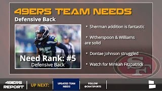 San Francisco 49ers Updated 2018 Team Needs - Post Free Agency