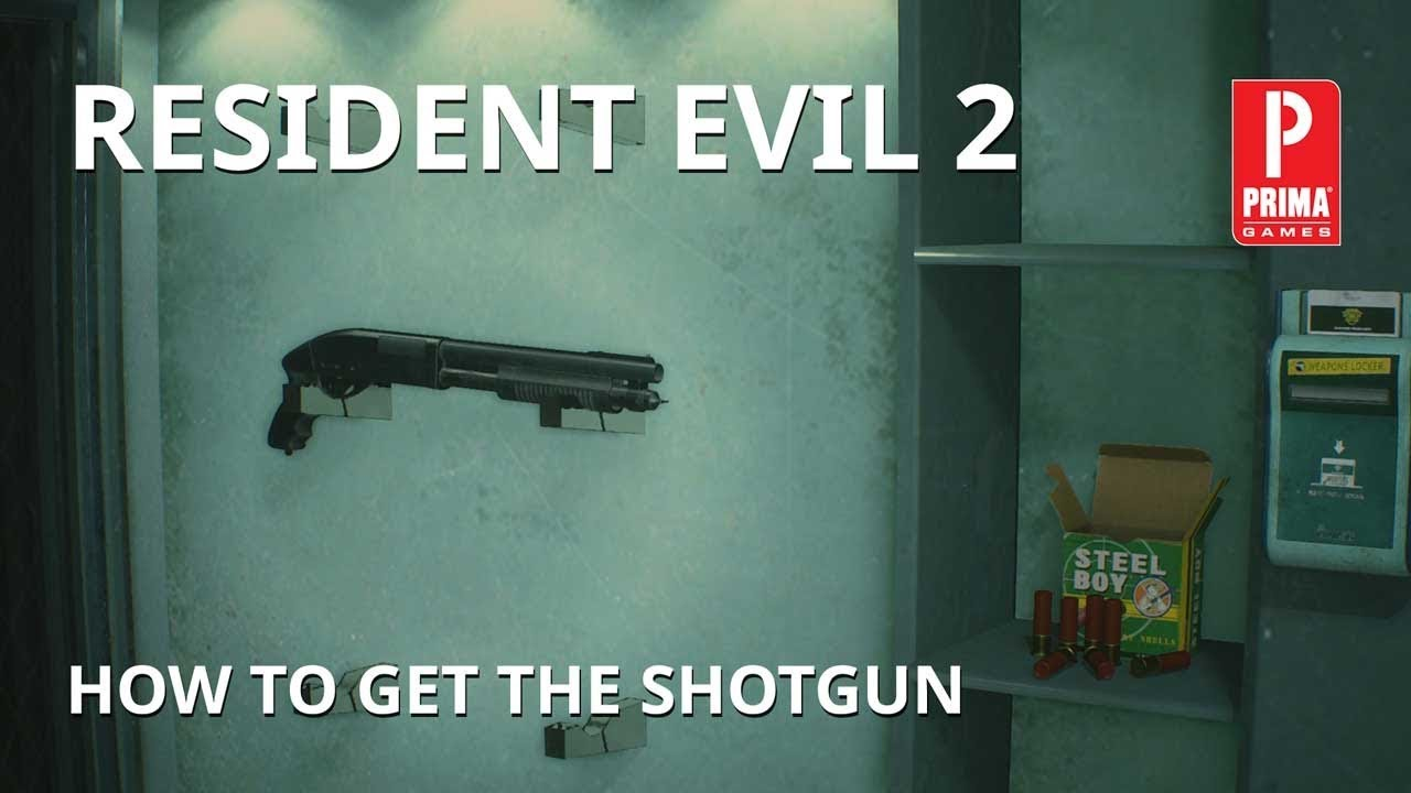 Resident Evil 2 - How to Get the Shotgun