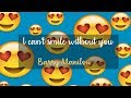Can't smile without you - Barry Manilow (Emoji verison)