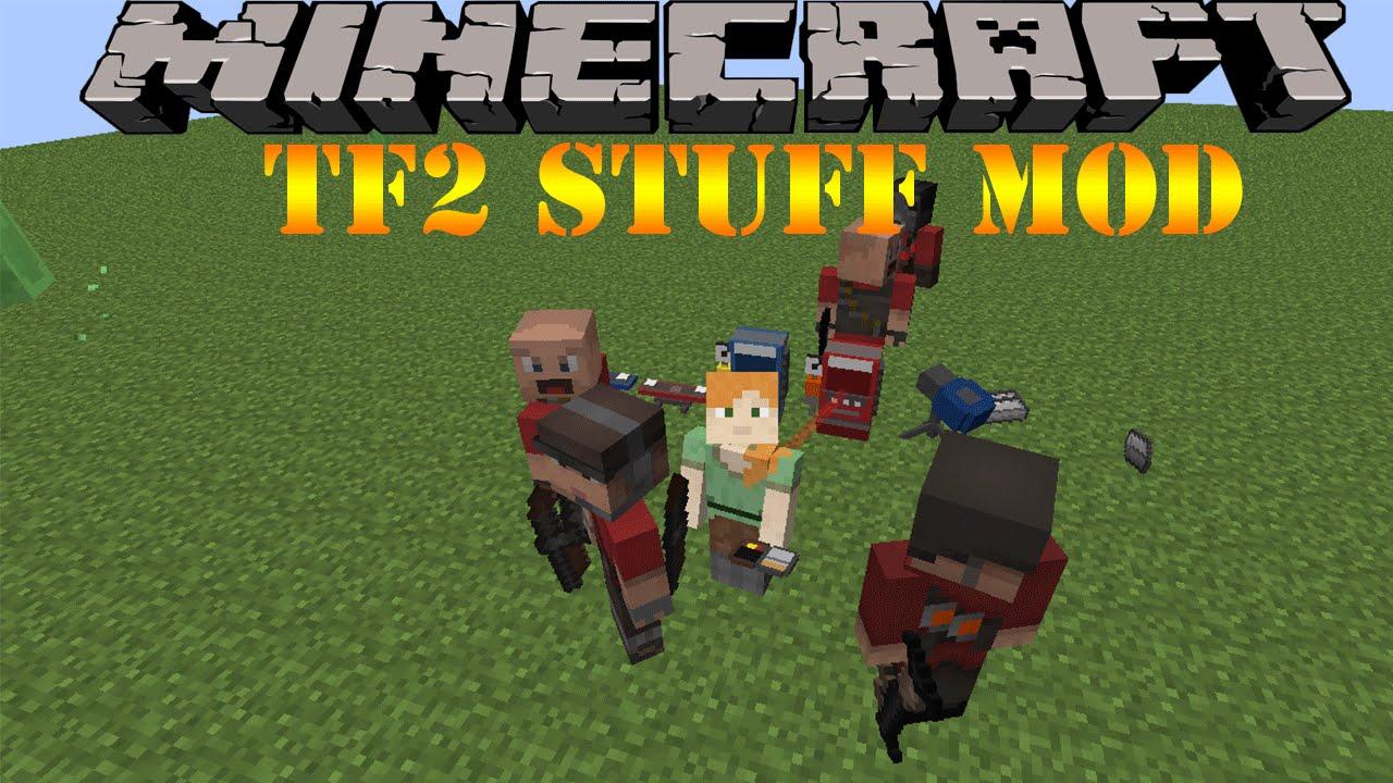 team fortress 2 tf2 stuff mod minecraft 1 10 2 youtube