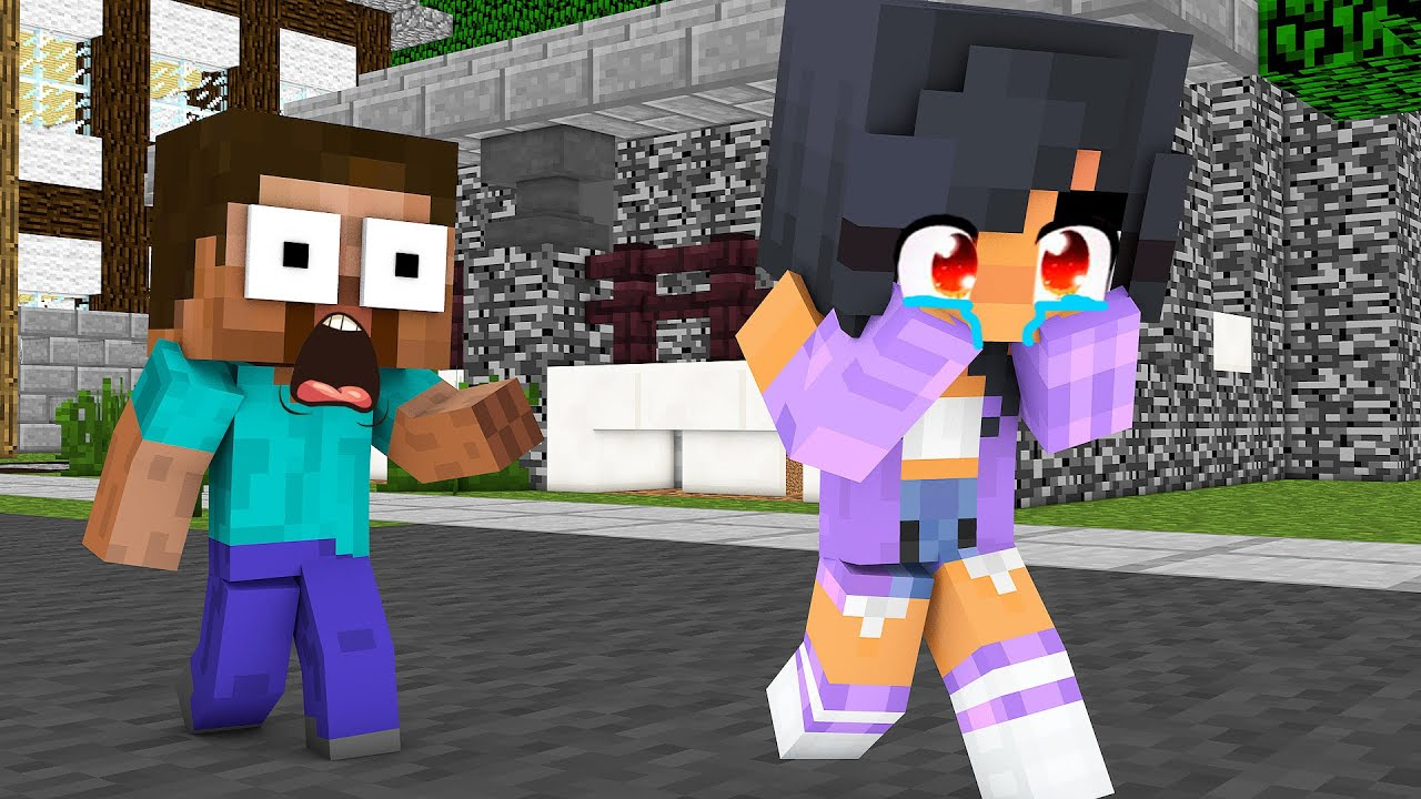 Monster School : BABY APHMAU LOVE CURSE CHALLENGE - Minecraft Animation
