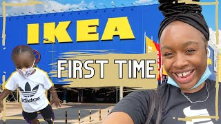 I LET MY KID RUN AROUND | FIRST TIME AT IKEA | WINDOW SHOPPING