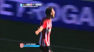 El gol de la Gata Fernández para el triunfo del Pincha en Bahía