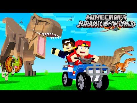 Minecraft Jurassic World #1 THE ADVENTURE BEGINS!