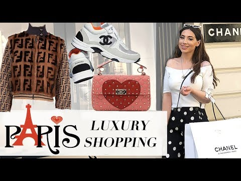 Birthday Luxury Shopping In PARIS- Chanel, Louis Vuitton, Dior, Fendi & More