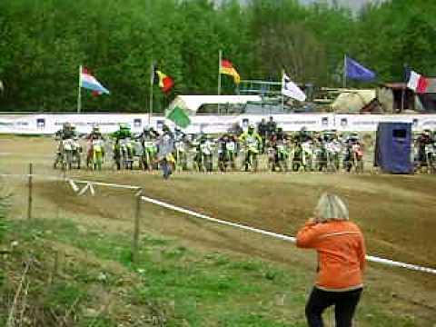 Motocross Kopstal 01/05/10 - Départ deb MX2b - Hol...
