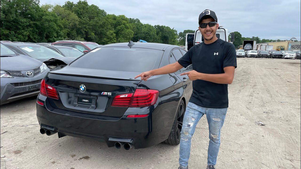الوحش BMW M5 مع مجموعة مميزه من السيارات الي اشتريتهن من المزاد 🔥